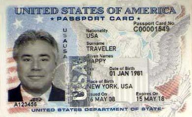A US Passport Card