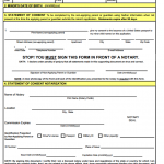 Passport Form: DS-3053