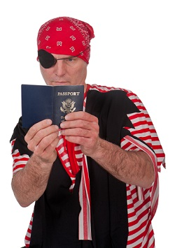 Passport Pirate Thief