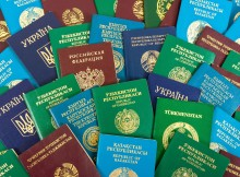 Passports from many different countries