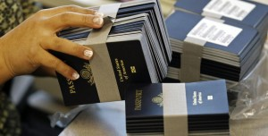 Bulk passports at a US Passport Office
