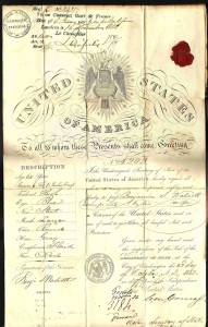 18th Century Passport