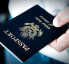 Handing over a passport