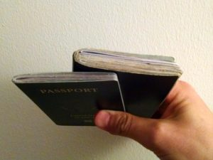 difference between the 26page and 52page passport books.