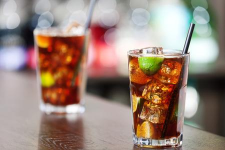 Cuba libre, a drink