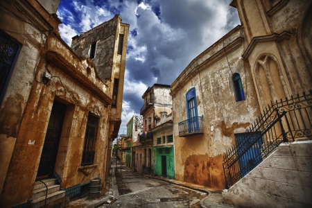 old part of Havana, Cuba